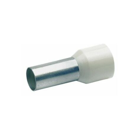 10,0N isol/é embouts 10 mm/² x 12 mm-rouge-lot de 100