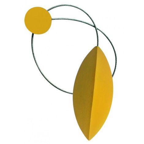 Embrasse magnétique navette Coloris - Moutarde