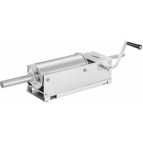 Embutidora Horizontal - 5L - Acero Inox. - 2 Velocidades - 4 Boquillas Incluidas