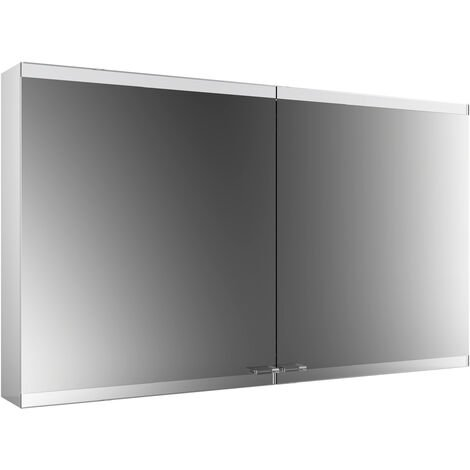 Emco asis evo Mirror light cabinet, surface-mounted model, 2 doors, 1200 mm, execution: with light system, without mirror heating - 939708006