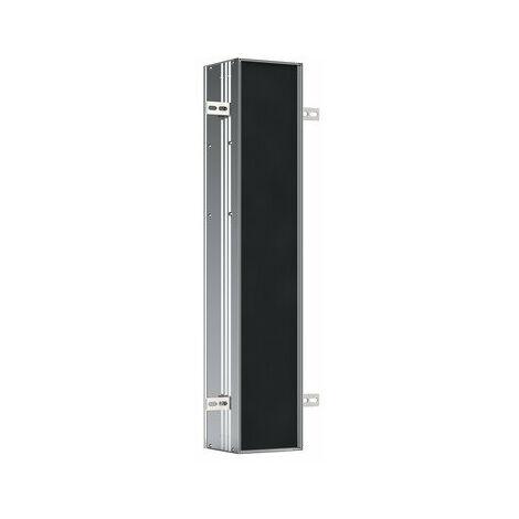 Emco asis module plus, module WC - modèle encastré, avec compartiments pour rouleau de rechange ou boîte en papier humide, papier WC et porte WC intégrée, charnière de porte à gauche - 975611000