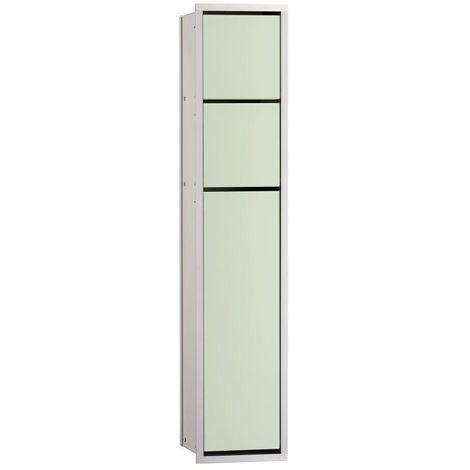 Emco asis Papierhalter WC-Modul Unterputz chrom weiß 975027850