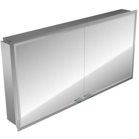 Emco asis prestige illuminated mirror cabinet, flush-mounted model, 1215mm, execution: without Bluetooth - 989706025