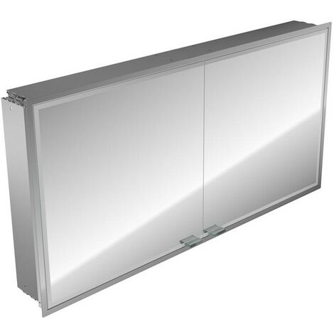 Emco asis prestige illuminated mirror cabinet, flush-mounted model, 1315mm, execution: with Bluetooth - 989705078