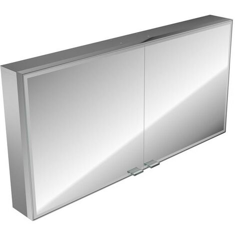 Emco asis prestige illuminated mirror cabinet, surface mounted model, 1187mm, execution: with Bluetooth - 989705075