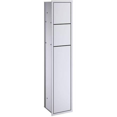 Emco asis WC-Modul Unterputz, Türanschlag links 978305050