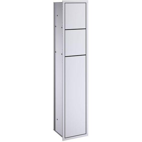 Emco asis WC-Modul Unterputz, Türanschlag rechts 978305052