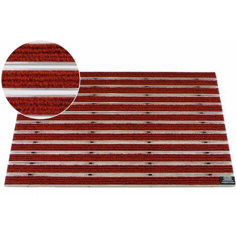 Gr/ö/ße:590 x 390 mm EMCO Eingangsmatte DIPLOMAT Rips beige 10mm Fu/ßmatte Schmutzfangmatte Fu/ßabtreter Antirutschmatte