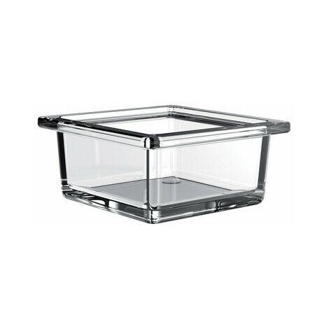 """main image of """"Emco liaison Cuvette carrée en verre pour garde-corps, verre cristal clair, plat - 186600000"""""""