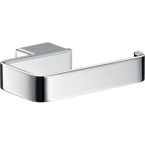 Emco Loft Toilettenpapierhalter chrom, Klopapierhalter, ohne Deckel, Wandmontage