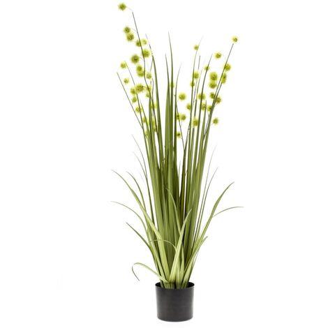 Emeral Planta hierba artificial pompón 120 cm 420286