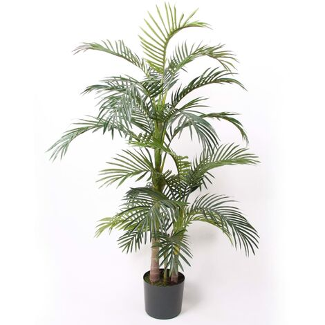 Emerald Artificial Areca Palm Tree in Pot 130 cm