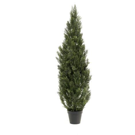 Emerald Artificial Cedar Tree Outdoor UV 150 cm - Green