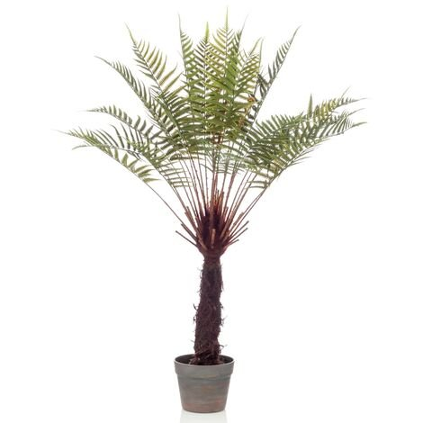 Emerald Artificial Dicksonia Tree Fern in Pot 80 cm