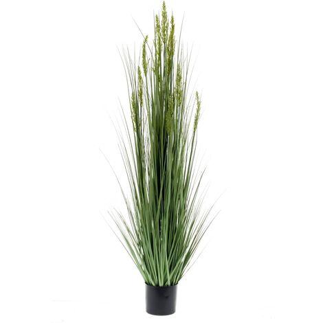 Emerald Artificial Grain Grass 150 cm - Green