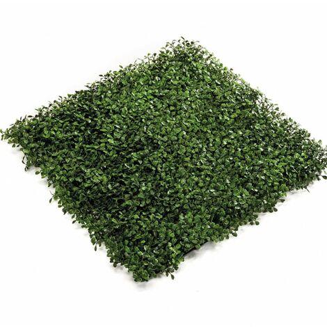 Emerald Artificial Grass Boxwood Mats 4 pcs Green 50x50 cm 417980