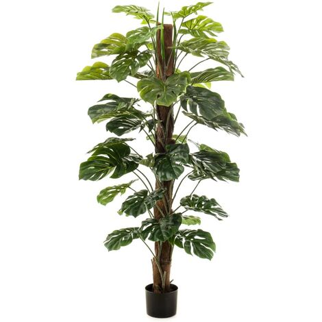 Emerald Artificial Monstera on Pole 150 cm - Green