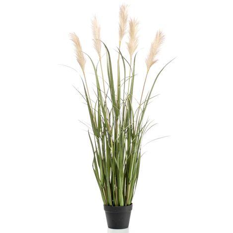Emerald Artificial Pampas Grass in Pot 120 cm