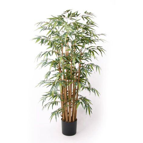 Emerald Bambú artificial Deluxe 145 cm - Verde