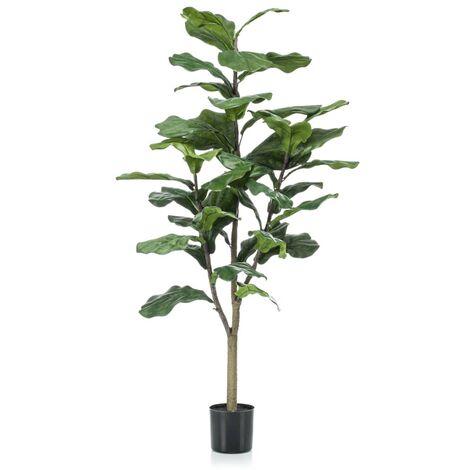 Emerald Geigenfeige Ficus lyrata Künstlich 120 cm