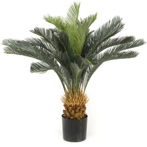 Emerald Künstlicher Japanischer Palmfarn im Topf 80 cm