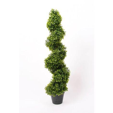 Emerald Planta Boj artificial en espiral 2 unidades 95cm verde 17.171C