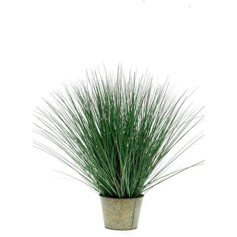 Emerald Planta de hierbas silvestres artificial 80 cm