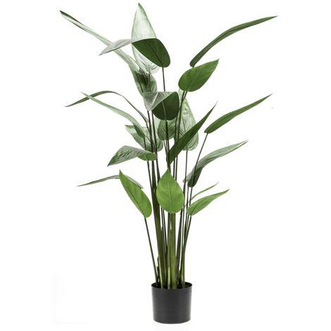 Emerald Planta heliconia artificial 125 cm verde 419837
