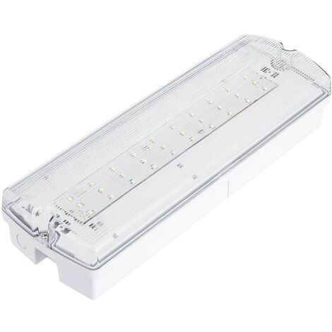Emergencia Led 4w estanca IP65 406Lm Superficie