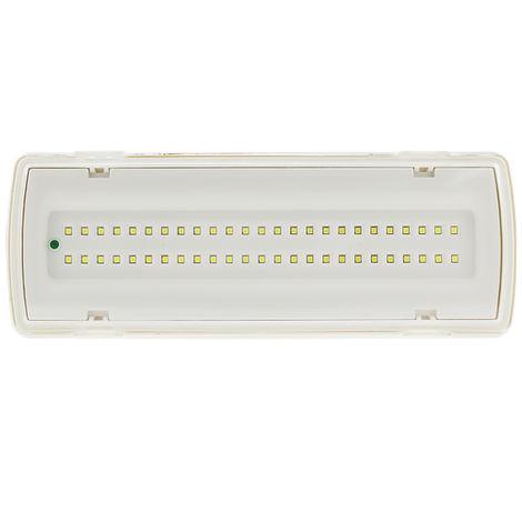 Emergencia LED 4W IP65 Blanco Frío 6500K | IluminaShop