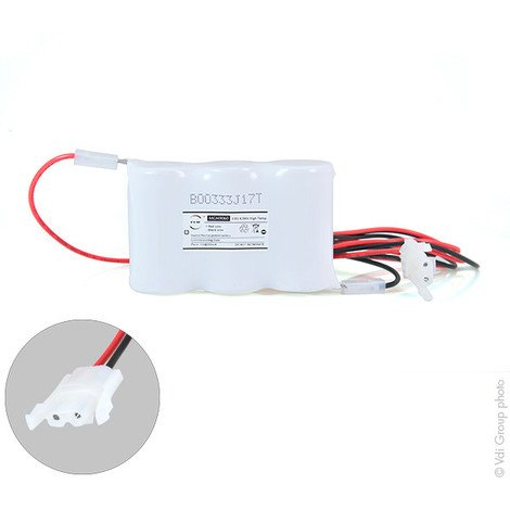 Emergency lighting battery 3xD ST1 + AMP 3.6V 4Ah