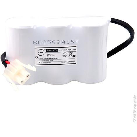 Emergency lighting battery 3xD ST1+ Backplate + AMP 3.6V 4Ah