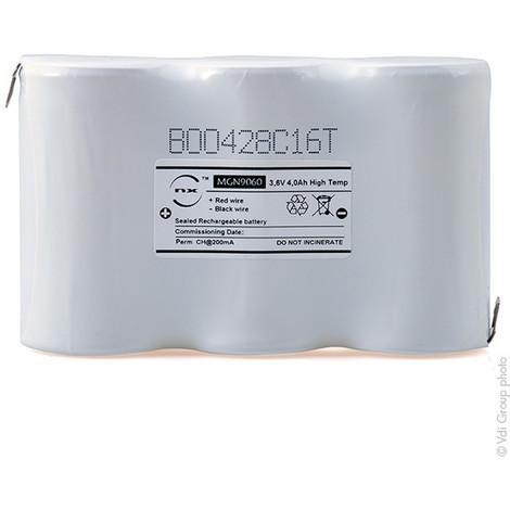 Emergency lighting battery 3xD ST1 Faston 4.8mm 3.6V 4Ah