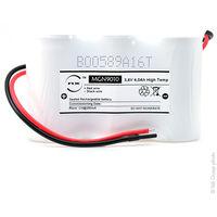 Emergency lighting battery 3xD ST1 wire 3.6V 4Ah