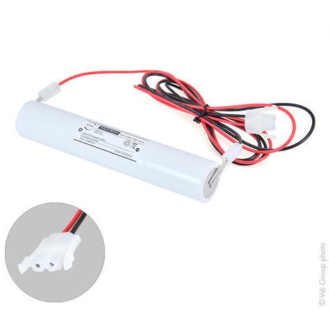 Emergency lighting battery 3xD ST4 3.6V 4Ah + AMP
