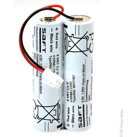Emergency lighting battery 4 VNTCS 4.8V 1.2Ah