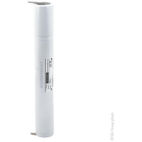Emergency lighting battery 4xD ST4 Faston 4.8mm (+2.8mm) 4.8V 4Ah