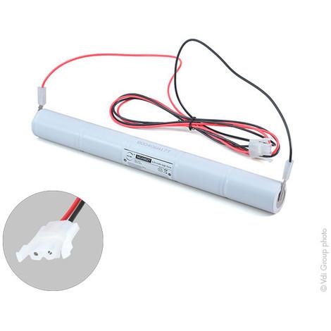 Emergency lighting battery 5xD ST4 + AMP 6V 4Ah