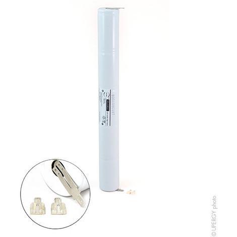Emergency lighting battery 5xD ST4 Faston 4.8mm (+2.8mm) 6V 4Ah