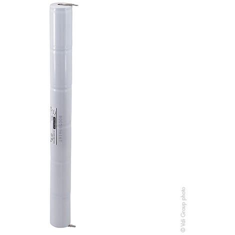 Emergency lighting battery 6xD ST4 Faston 4.8mm (+2.8mm) 7.2V 4Ah