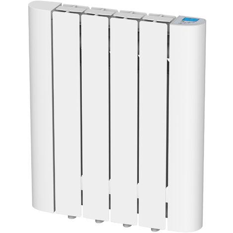 Emisor térmico de inercia digital con fluido interno 600W con control WIFI