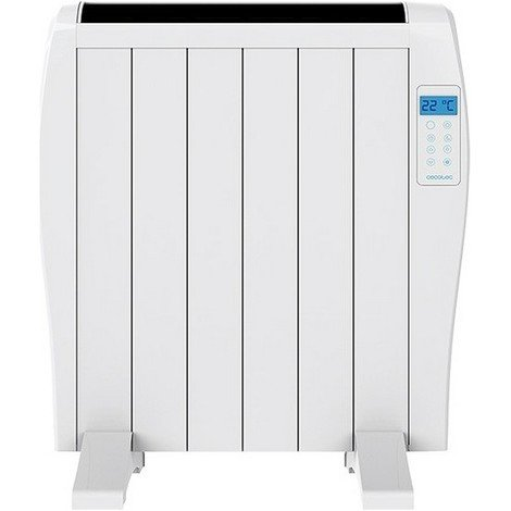 Emisor Térmico Digital (6 cuerpos) Cecotec Ready Warm 1200 Thermal 900W Blanco