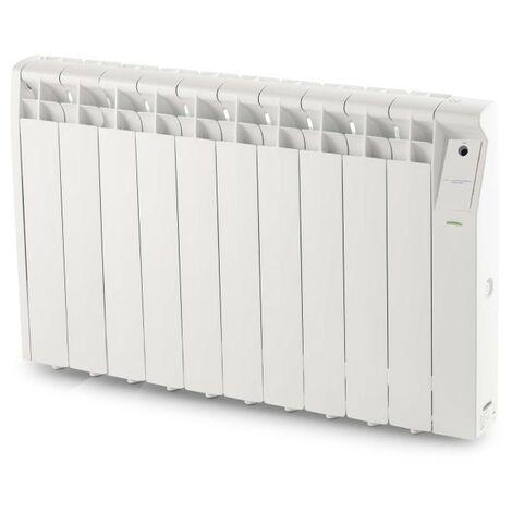 Emisor termico elec con fluido 10 elementos 1500w bl serie n