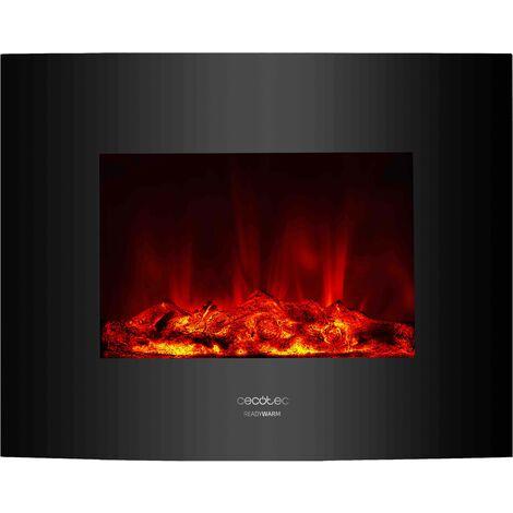 Emisor térmico ready warm 2600 curved flames