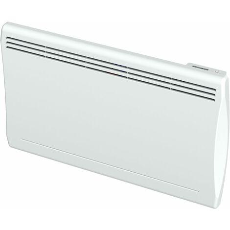 Emisor termico seco a inercia cerámica blanco formato horizontal y curvo Carrera