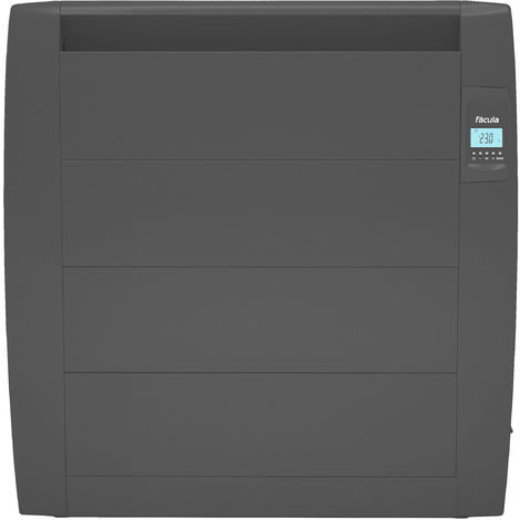 Emisor Térmico Seco Slim Serie L Grafito Programable