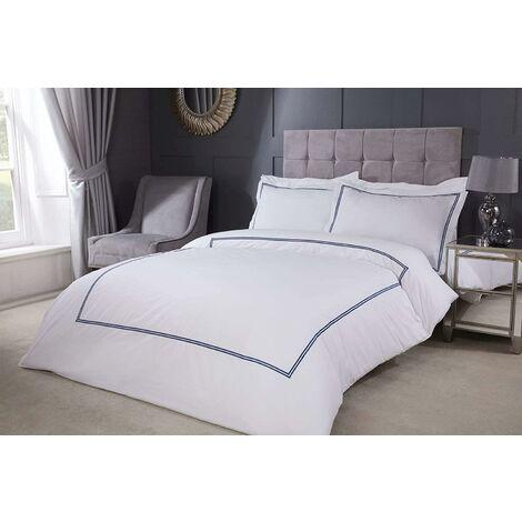 Emma Barclay Mayfair Duvet Set King Bed Navy, Cotton | 50% Polyester