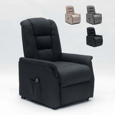 EMMA Electric Power Lift Recliner Chair with Back Wheels
