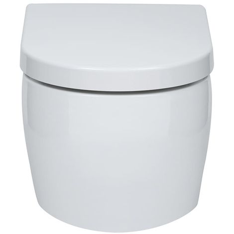 Emme Wall Hung Toilet with Soft Close Seat