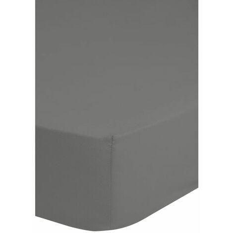 Emotion Spannbettlaken Jersey 140x200 cm Grau 0200.03.44